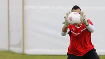Nati-Goalie Diego Benaglio: «Tut gut, das Vertrauen des Traines zu spüren».
