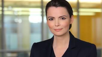 Neue Geschäftsführerin der Novartis Pharma Schweiz AG in Rotkreuz: Silvia Schweickart.