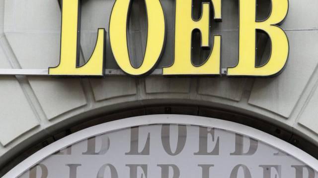 Das Logo von LOEB in Bern