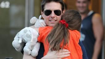 Tom Cruise und Tochter Suri (Archiv)
