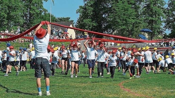Das letzte Windischer Jugendfest – hier die Morgenfeier im Amphitheater – fand 2018 statt.