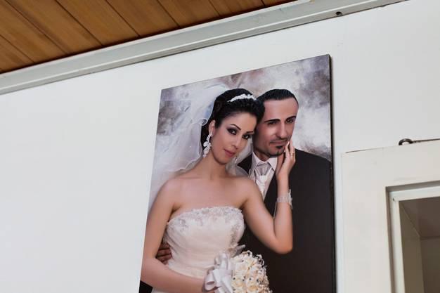 Heiratsportrait von Milad Kourie und Merna Ablahad