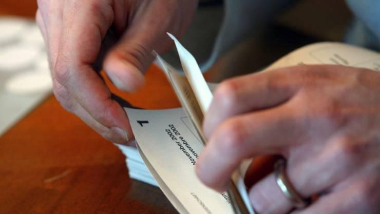 In Wölfinswil wurde am Sonntag gewählt und abgestimmt. (Symbolbild)