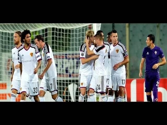 Alle Goals aus dem Spiel Basel - Fiorentina 2:1.