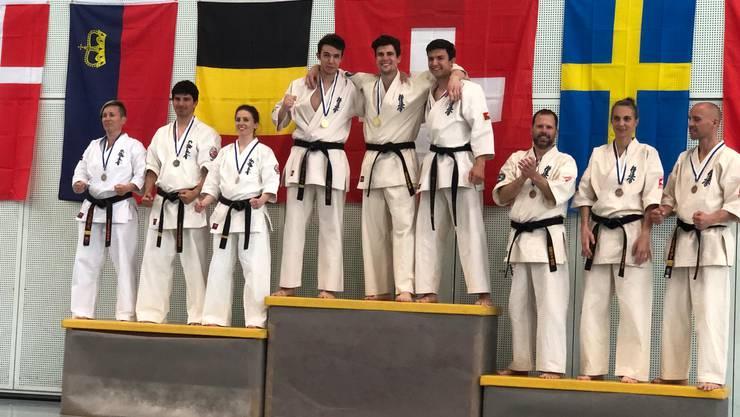 Das Karate Dream-Team