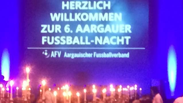 Fussball-Happening bei AFV-Gala in Brugg