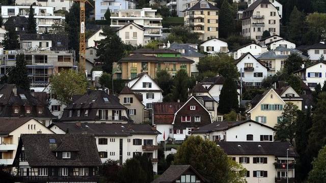 Bauliche Verdichtung: Auch bei kleineren Gemeinden. (Symbolbild)