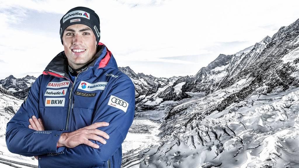 Daniel Yule gewinnt in Adelboden den Slalom