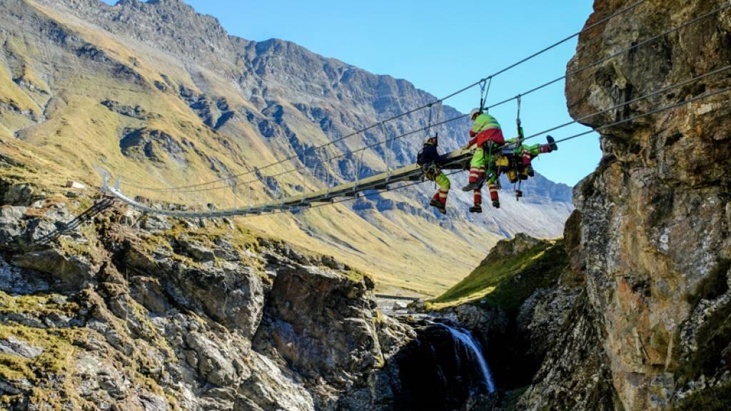 Wanderweg in Graubünden ausgezeichnet