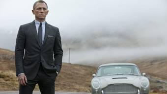 Daniel Craig im neuen Bond-Streifen «Skyfall».