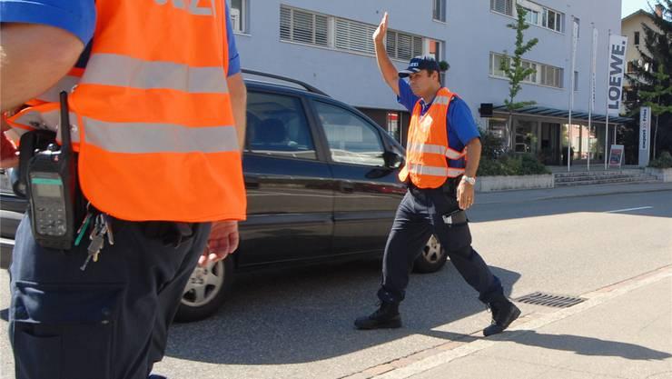 Wenn die Polizei Autofahrer anhält, endet das fast immer besser als in einem Grenchner Fall. Am Ende mussten die Richter entscheiden. Symbolbild AZ