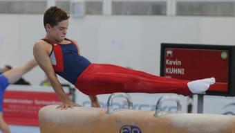 Kevin Kuhni debütierte im Programm 4 mit einem überlegenen Sieg.