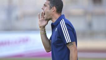Lausanne-Sport-Trainer Fabio Celestini peitscht seine Spieler nach vorne