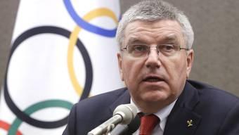 """IOC-Präsident Thomas Bach muss im """"Fall Russland"""" bald Stellung beziehen"""