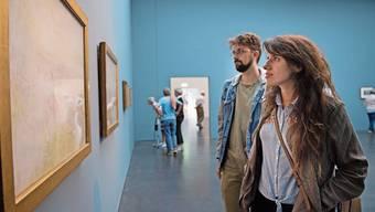 Marianna Iozzino und Alessandro Mazzoni studierten Kunst in Mailand und sind wegen Turner nach Luzern gekommen.