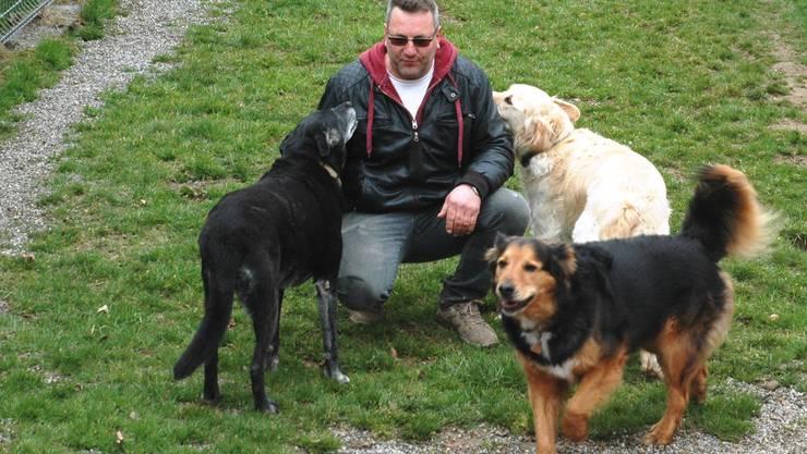 Franz Scherer ist der A3-Tierferienplatz-Inhaber