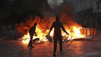 Der Bremgarter soll am G20-Gipfel in Hamburg mit über 200 anderen Gewalttätern des «Schwarzen Blocks» gewütet haben. (Archivbild)