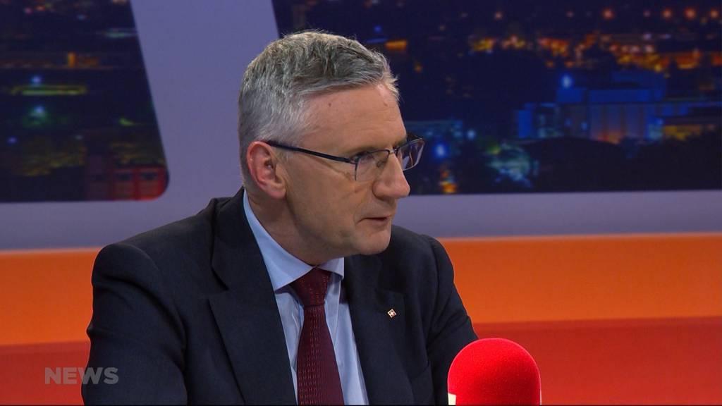 Suche nach SVP-Präsident: Salzmann sagt Nein