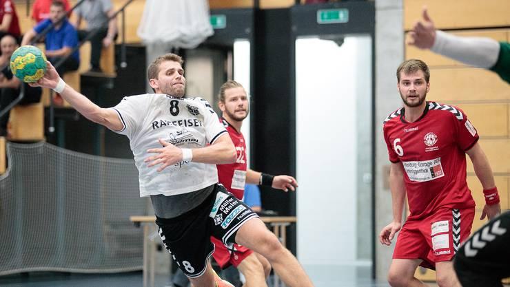 Auf Maurice Meier ist war auch gegen die HSG Siggenthal/Vom Stein Verlass.