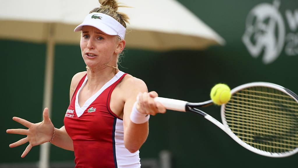 Jil Teichmann konnte zu ihrem Zweit-Runden-Spiel nicht antreten