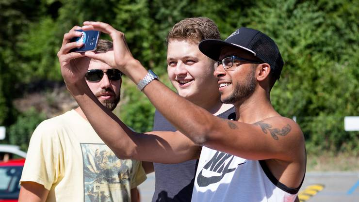 Ein Selfie mit Bendrit