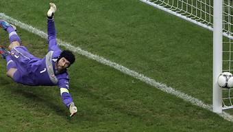 Bittere Heimpleite für Tschechien (im Bild Goalie Petr Cech)