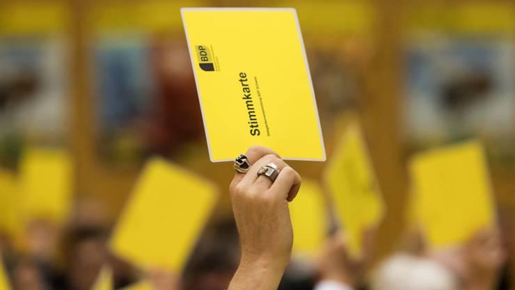 Das Ja zur Reform der Altersvorsorge 2020 war bei den Delegierten der BDP nicht umstritten. (Archiv)