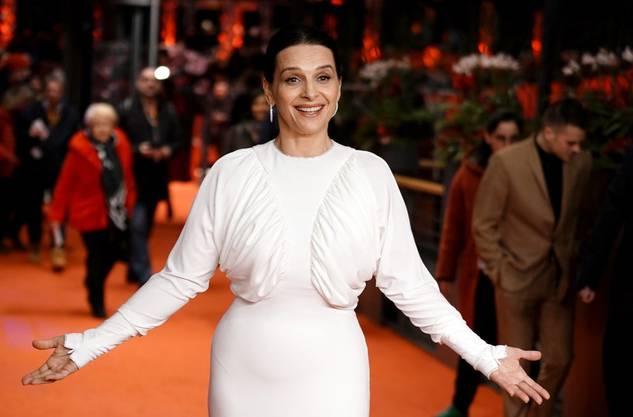 Schauspielerin Juliette Binoche kommt nach Zürich.