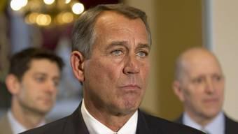 Der republikanische Parlamentspräsident John Boehner spricht vom ersten Schritt zu echter Verantwortung