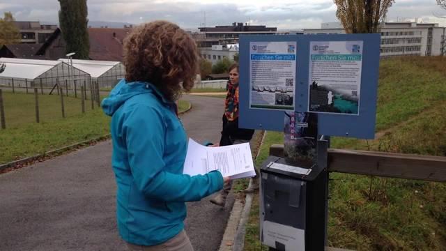 Bürgerwissenschaften: Barbara Strobl doktoriert an der Uni Zürich zum Thema hydraulischer Vorhersagen. Ihre Daten sammelt sie über das CrowdWater-Project.