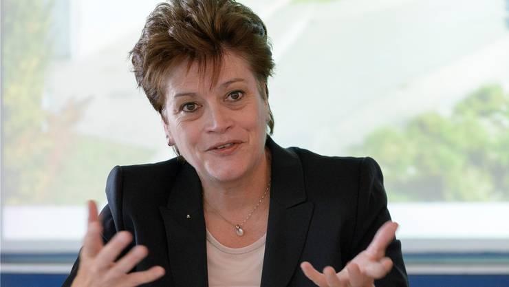 Möchte im März wiedergewählt werden: Amtierende Bildungsdirektorin Silvia Steiner (CVP).