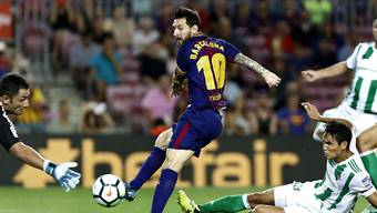 Barcelona siegt auch ohne Tor von Lionel Messi