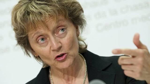 Finanzministerin Eveline Widmer-Schlumpf: Immer höhere Ausgaben für Berater.