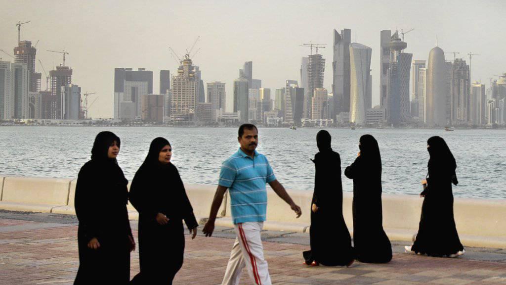 US-Geheimdienstler sind sich sicher: Hinter dem Cyberangriff, der die Katar-Krise ausgelöst hat, stehen die Vereinigten Arabischen Emirate. (Archivbild)