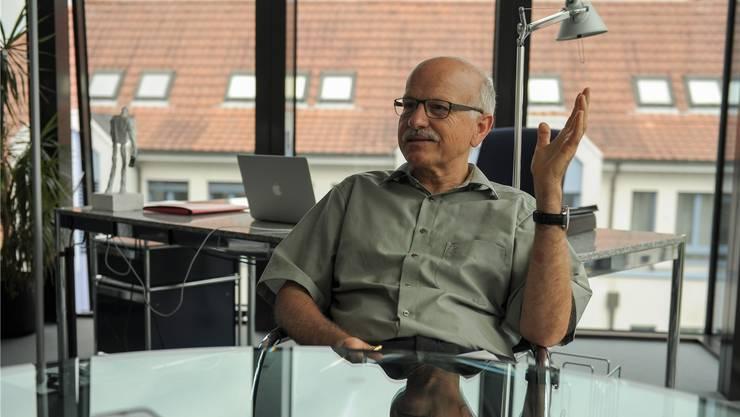 «Wir Gemeinden müssen selber vorpreschen»: Urs Hintermann mischt sich bewusst in die Kantonspolitik ein. Die Strukturen im Baselbiet seien verkrustet.
