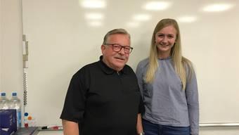Gemeindepräsident Kurt Bloch stellte an der letzten Sitzung die neue Gemeindeschreiberin Melinda Hüsler vor.