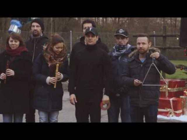 Das Making-of zum Feuerwehr-Video.