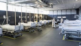In beiden Basel wurden glücklicherweise nicht alle Spitalkapazitäten gebraucht.