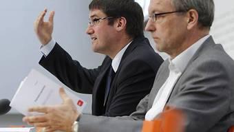 Levrat und Fehr präsentierten im März das Parteiprogramm