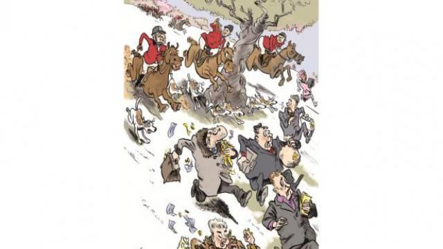 Illustration: Nicolas Bischof in Anlehnung an «The Economist».