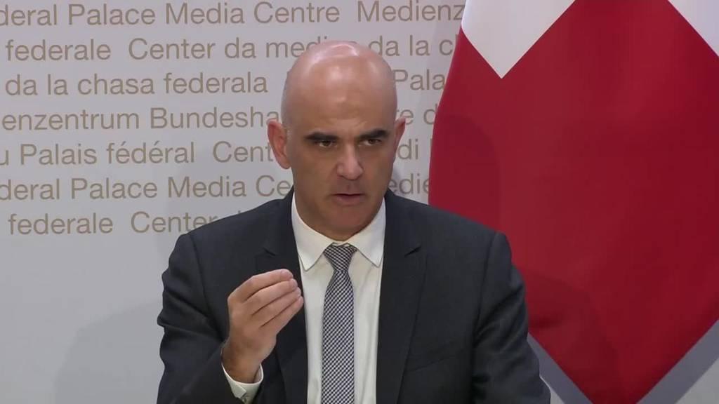 Komplette Pressekonferenz: Corona-Krisengipfel mit Kantonen