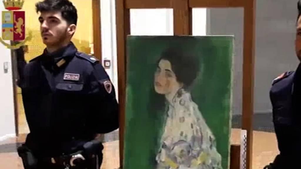 In Italien wiedergefundenes Klimt-Gemälde ist echt