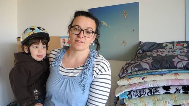 «Eine Heimat unterwegs»: Simone Maurer sagt, weshalb sie Decken für Flüchtlingskinder näht.