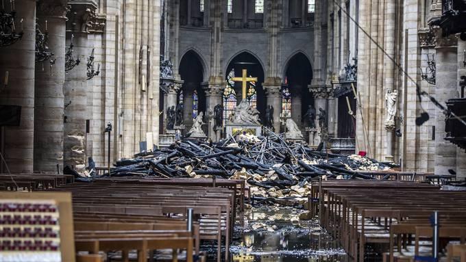 Inferno in Notre-Dame: Was gerettet wurde – und was nicht