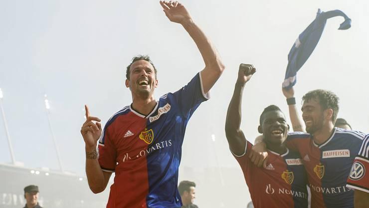 Marco Streller durfte oft mit dem FC Basel jubeln. Nun sagt er Tschüss.