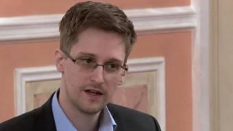 Edward Snowden in Russland, wo er zurzeit lebt (Archiv)