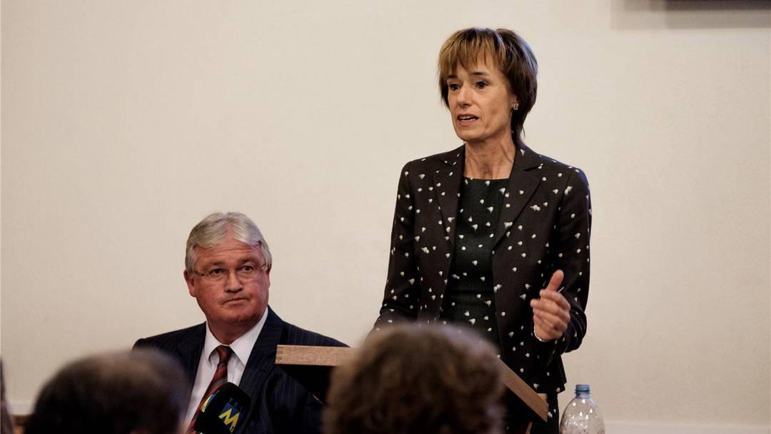 Macht Ruth Humbel Knecht zum König? Ruth Humbel kandidiert auch im 2. Wahlgang zum Ständerat.