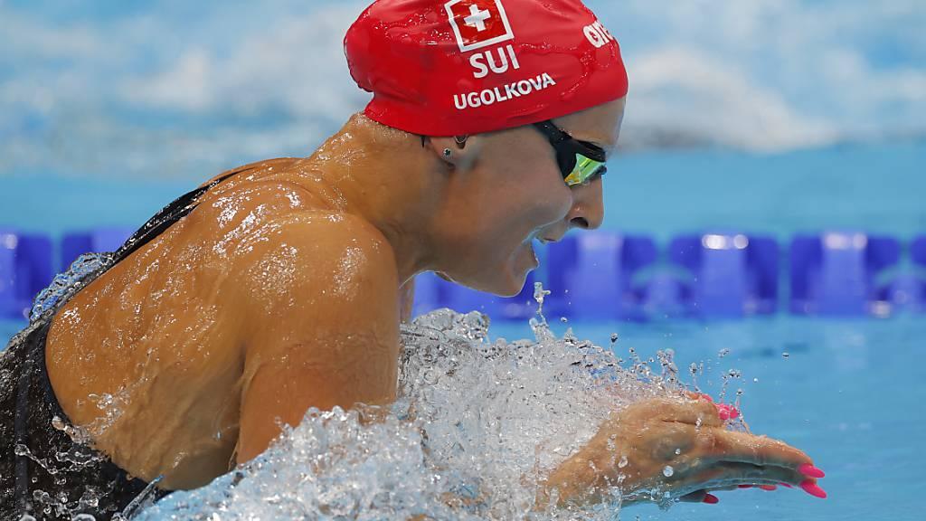 Auch Maria Ugolkova schwamm souverän in den Halbfinal