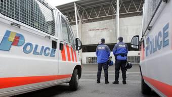 In Genf herrschen am Cupfinal-Tag an Auffahrt ähnlich hohe Sicherheitsvorkehrungen wie während der Europameisterschaft 2008. (Archivbild)