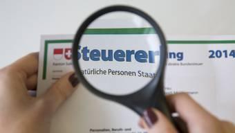Es dürfte in Solothurn noch Jahre dauern, bis die Steuererklärung wie in den Kantonen Aargau oder Bern per Internet eingereicht werden kann – und das Scanning überflüssig wird.